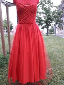 la robe bustier