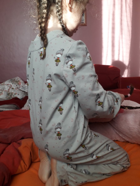 Le pyjamas combinaison
